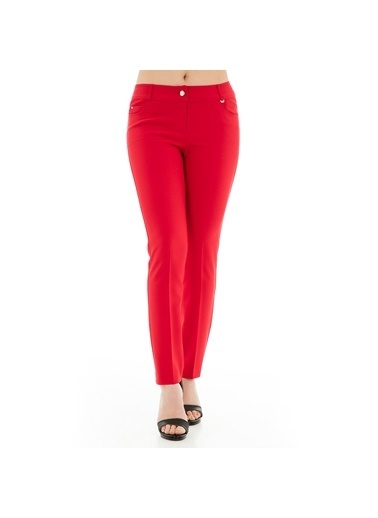 Modailgi Pantolon Kırmızı